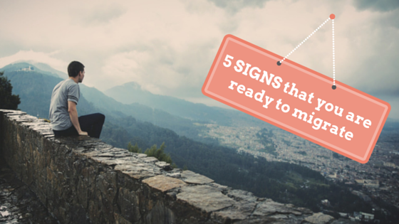 5 Signs You are Ready To Migrate