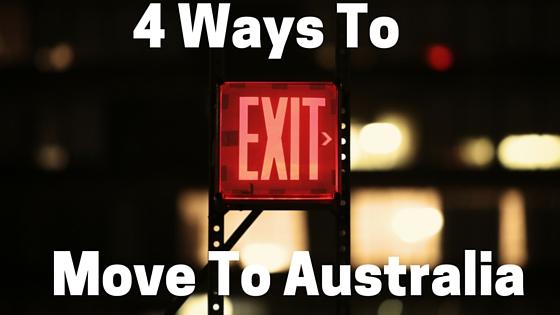 4 Ways To Move To Australia