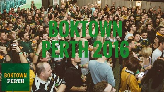 BOKTOWN Perth 2016