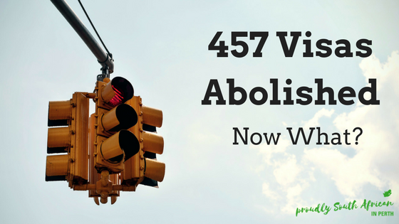 457 Visas Abolished 2017