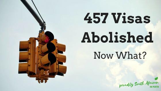 457 Visas Abolished 2017