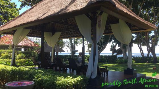 Melia Nusa Dua Spa Outdoor Area