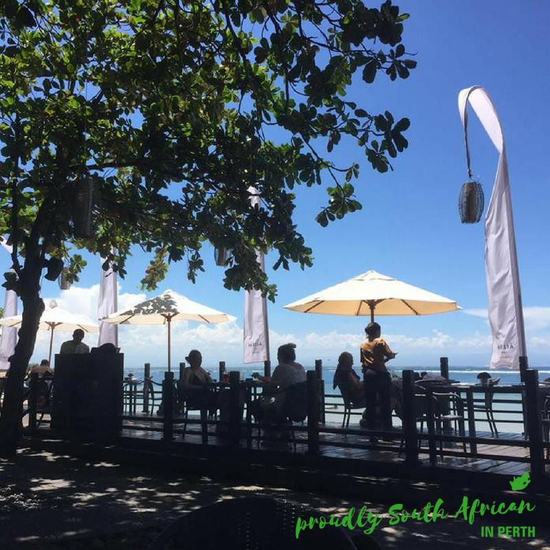 Sarteria Beach Restaurant Melia Nusa Dua