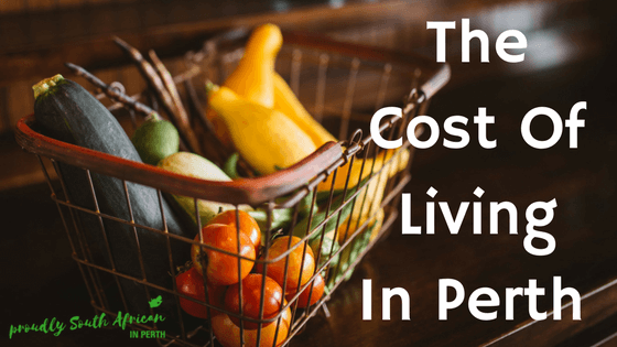 The Cost Of Living In Perth 2017