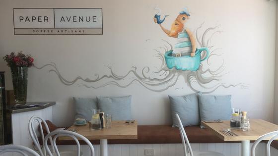 Paper Avenue Cafe Menu Brunch