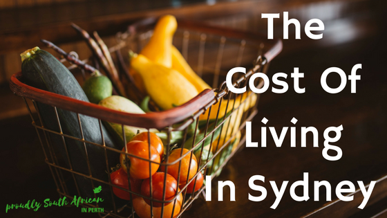 The Cost Of Living In Sydney