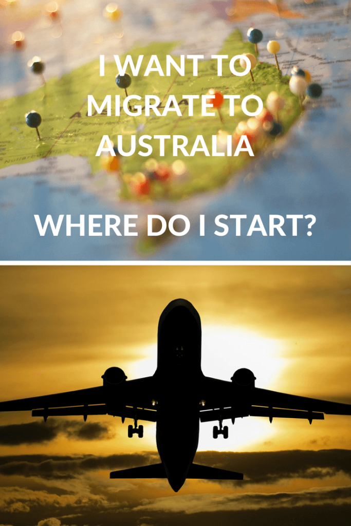 WANT TO MIGRATE TO AUSTRALIA