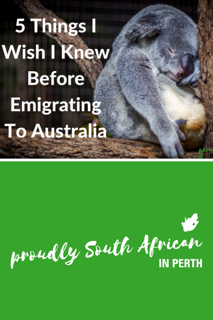 5 Things I Wish I Knew Before Emigrating To Australia