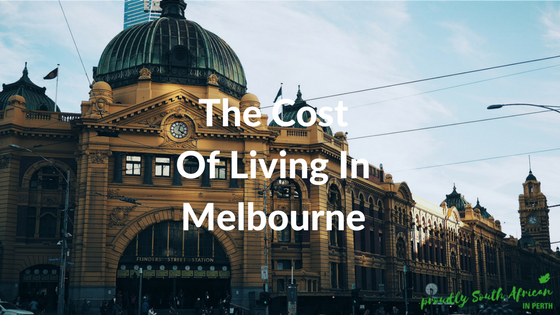 The Cost Of Living In Melbourne