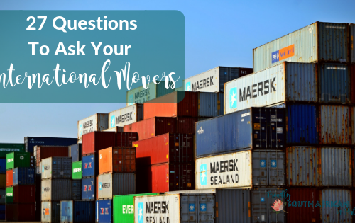 27 Questions You Need To Ask Your International Movers Before You Move To Australia - Shipping Containers On The Dock