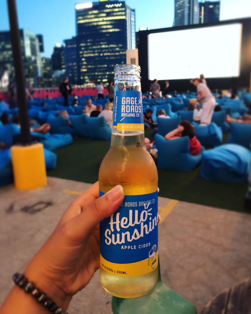 Rooftop Movies Perth - Hello Sunshine Cider