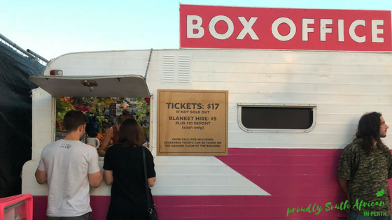 Rooftop Movies Perth - Tickets