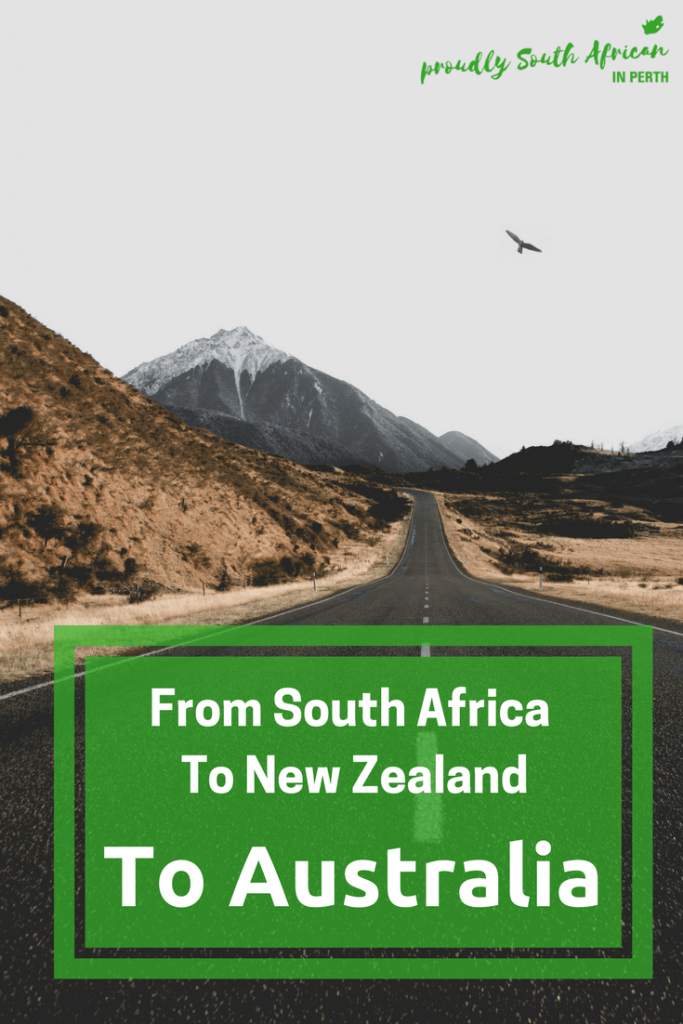 Moving From South Africa To New Zealand To Australia _ Proudly South African In Perth