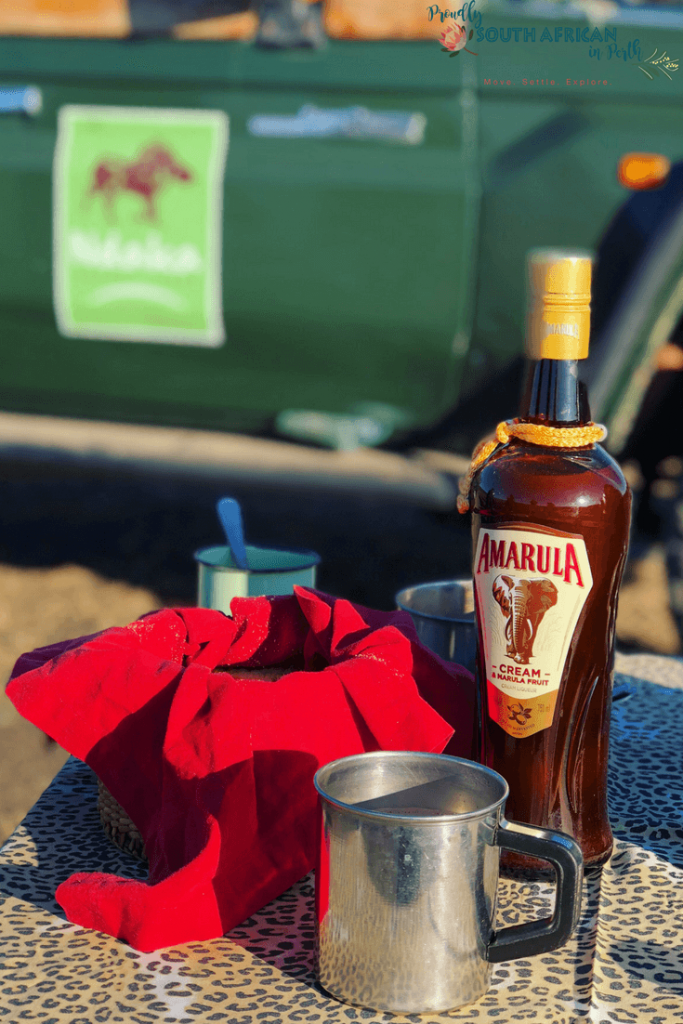 Amarula Hot Chocolate On A Game Drive In Nambiti Private Game Reserve South Africa