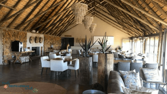 Ndaka Safari Lodge Dining Area - Game Reserve South Africa
