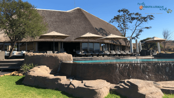 Ndaka Safari Lodge Outdoor Deck - Nambiti Private Game Reserve South Africa