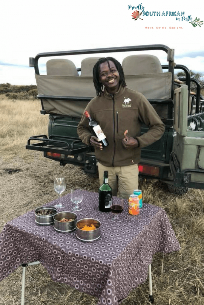 Sundowners Game Drive Ndaka Safari Lodge - Nambiti Private Game Reserve South Africa
