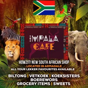 impala cafe south african shop armadale