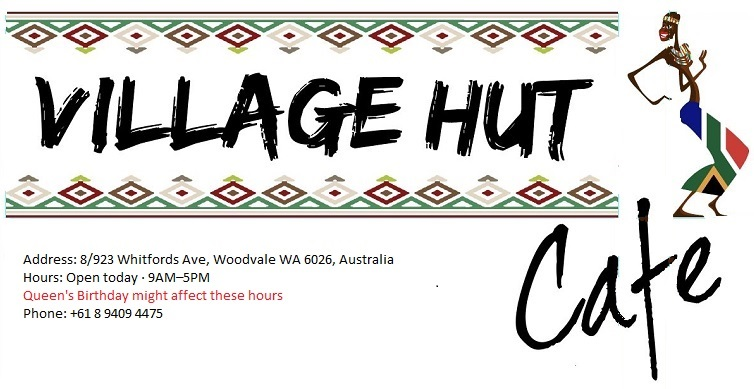 village hut cafe logo