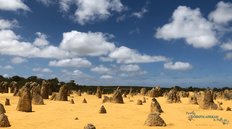 Pinnacles Nambung - Proudly South African In Perth