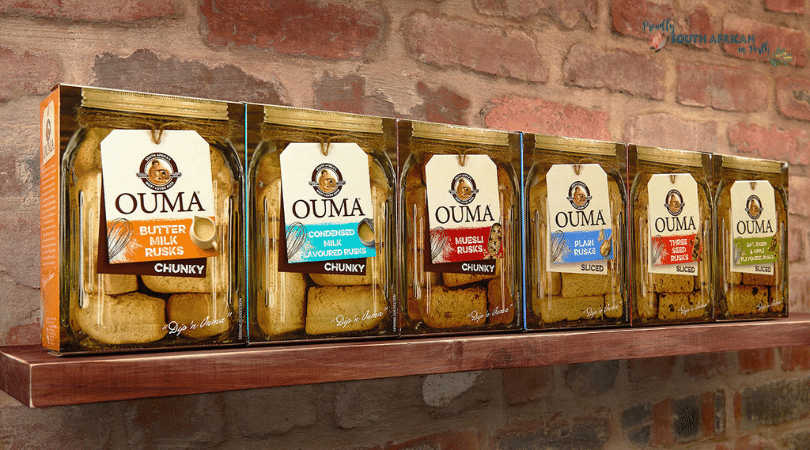 Cape To Cairo Ouma Rusks - Proudly South African In Perth