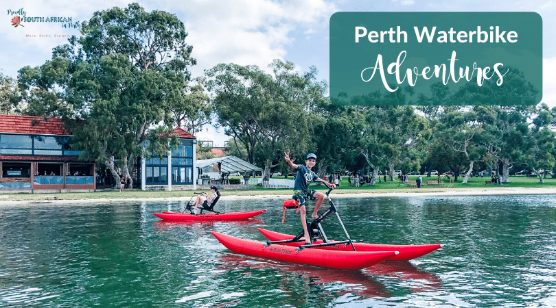 Perth Waterbike Adventures Matilda Bay - Proudly South African In Perth