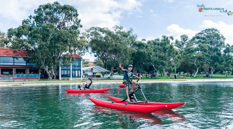 Make A Christmas Bucket List - cycling on the swan river