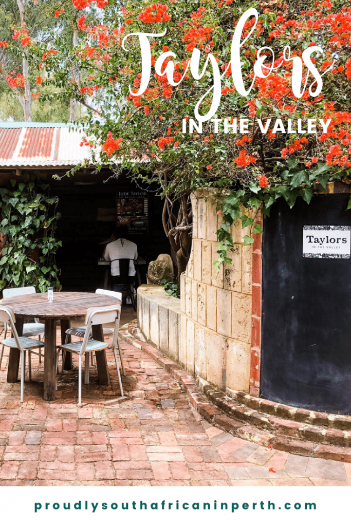 Taylors In The Valley Brunch Experience - Proudly South African In Perth