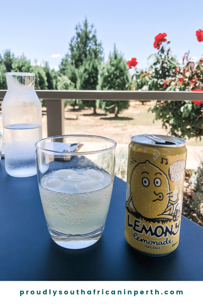 Organic Lemonade at Two Birds Fromagerie