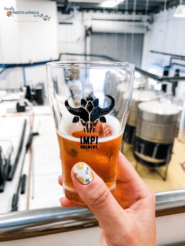 beer tasting event at Impi Brewers Wangara