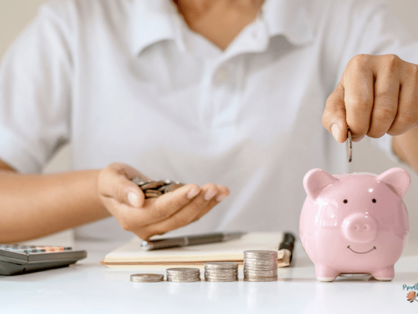 What Is Superannuation - putting money into a piggy bank