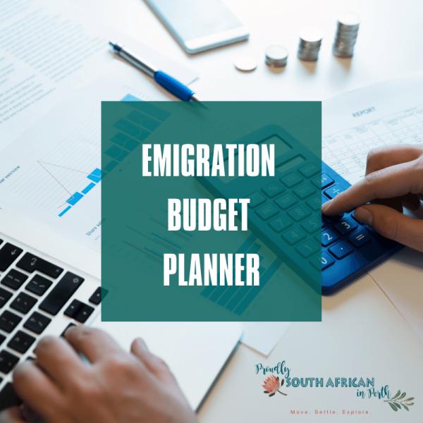 Emigration Budget Planner product image
